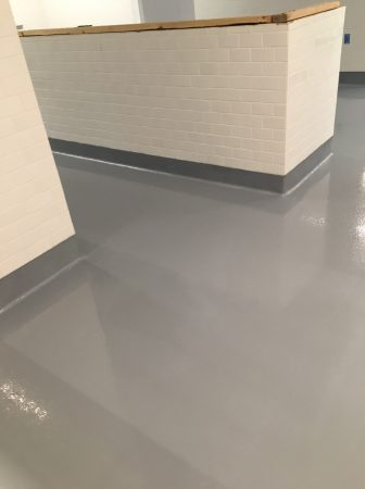 Coved Flooring