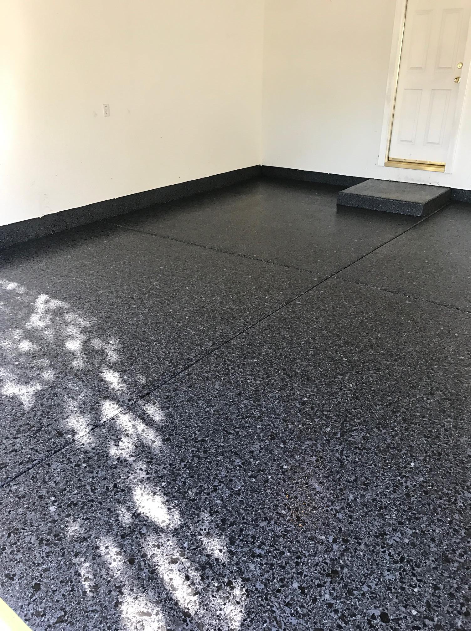 Custom Garage Epoxy Floor Designs