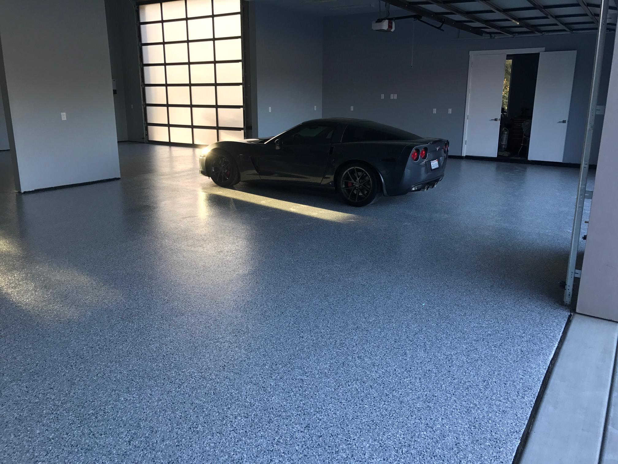 1/4 inch Grey Blend floor