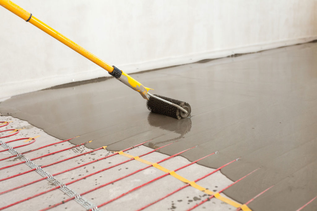Radiant Floor Heating And Epoxy