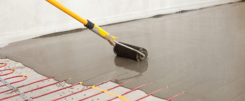 Radiant Floor Heating And Epoxy